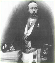 Bro. James Masterton, founder RWM of Lodge Kirkliston Maitland